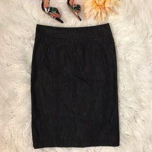 Lilly Pulitzer Dark Denim Skirt